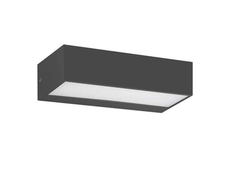 Απλίκα τοίχου  εξωτερικού χώρου  σε μαύρο.