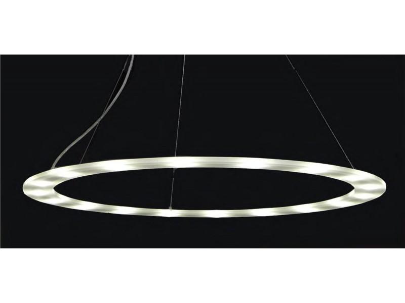 pendant 180000 luminaire in circle shape with led lights perimeter. Black Bedroom Furniture Sets. Home Design Ideas
